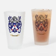 Tucker Family Crest (Coat of Arms) Drinking Glass