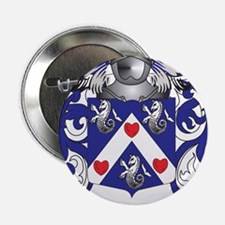 "Tucker Family Crest (Coat of Arms) 2.25"" Button"