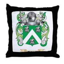 Tully Family Crest (Coat of Arms) Throw Pillow