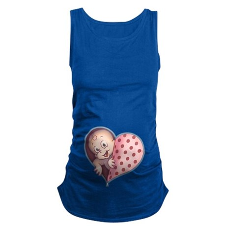 Open Hearted Wombie Maternity Tank Top