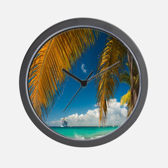 Palm trees cruise Catalina Island - Copy (2) Wall
