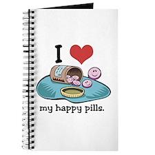 I Heart (Love) My Happy Pills Journal