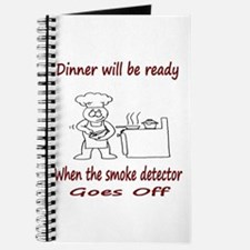 Dinner Will Be Ready When .. Journal