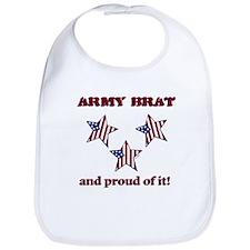 Army Brat Bib - star