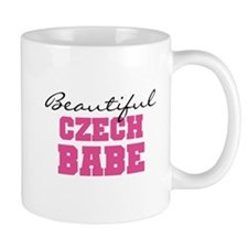 Czech Babe Small Mug