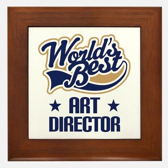 Art Director (Worlds Best) Framed Tile