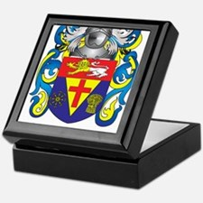 Tuohy Family Crest (Coat of Arms) Keepsake Box