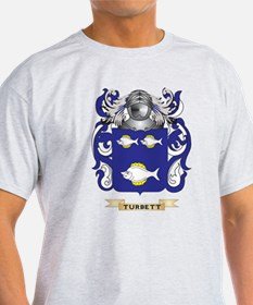 Turbett Family Crest (Coat of Arms) T-Shirt