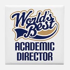 Academic Director (Worlds Best) Tile Coaster