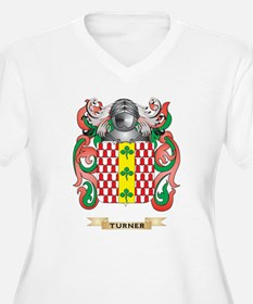 Turner Family Crest (Coat of Arms) Plus Size T-Shi