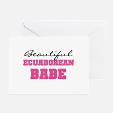 Ecuadorean Babe Greeting Cards (Pk of 10)