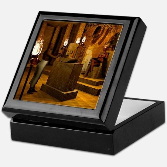 Queen Nefertitis Bust Keepsake Box