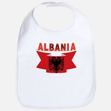 flag Albania Ribbon Bib