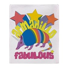 Armadillo Fabulous Throw Blanket