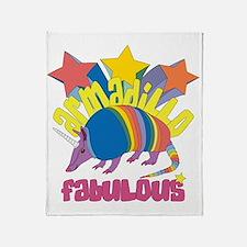 Armadillo Fabulous Throw Blanket