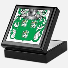 Tyson Family Crest (Coat of Arms) Keepsake Box