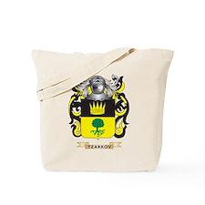 Tzarkov Family Crest (Coat of Arms) Tote Bag