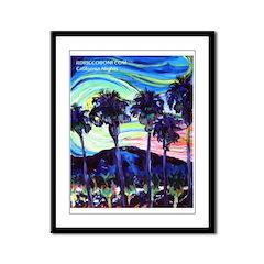 California Nights Framed Panel Print