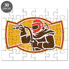 Sandblaster Sandblasting Hose Side Retro Puzzle