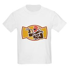 Sandblaster Sandblasting Hose Side Retro T-Shirt