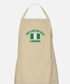 Life is better with Nigerian Apron