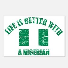 Life is better with Nigerian Postcards (Package of