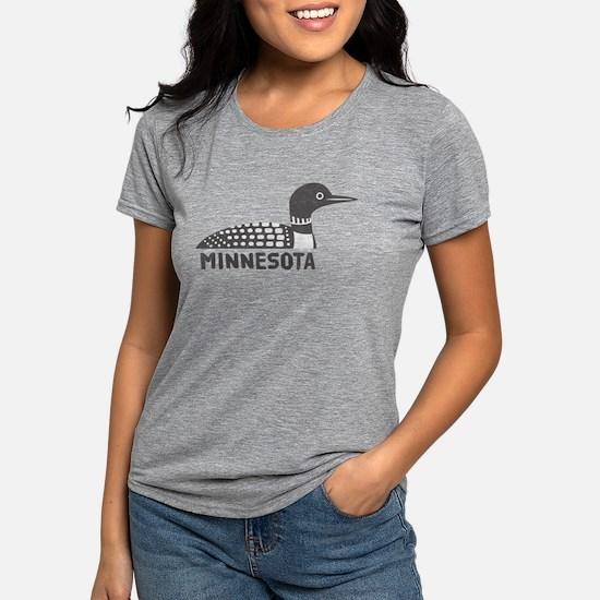 Cute I love up north Womens Tri-blend T-Shirt