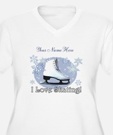 I Love Skating! Plus Size T-Shirt