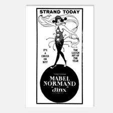 Mabel Normand Jinx Postcards (Package of 8)
