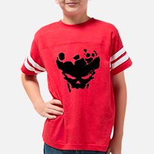 splattered skull Youth Football Shirt