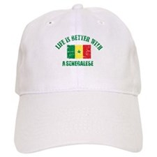 Life is better with a senegalese Baseball Cap