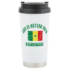 Life is better with a senegalese Travel Mug