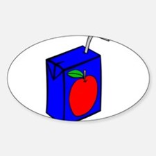 Apple Juice Box Decal