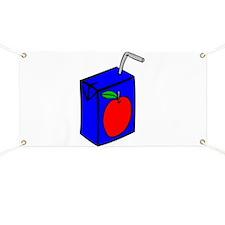 Apple Juice Box Banner
