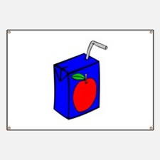 Apple Juice Box Banner