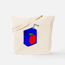 Apple Juice Box Tote Bag