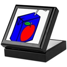 Apple Juice Box Keepsake Box