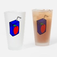 Apple Juice Box Drinking Glass