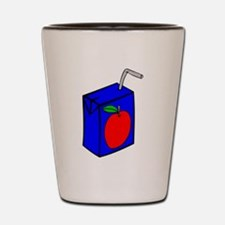 Apple Juice Box Shot Glass