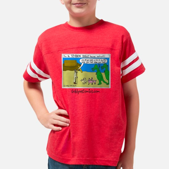 Mens T-Rex Ark Youth Football Shirt