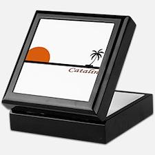 Cool Catalina island Keepsake Box