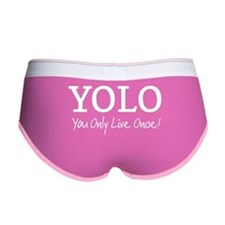 YOLO You Only Live Once Women's Boy Brief