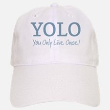 YOLO You Only Live Once Baseball Baseball Baseball Cap