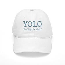 YOLO You Only Live Once Baseball Baseball Cap