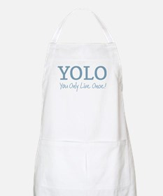 YOLO You Only Live Once Apron