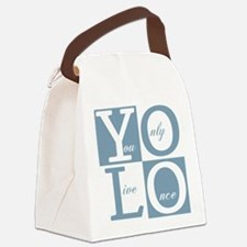 YOLO Square Canvas Lunch Bag