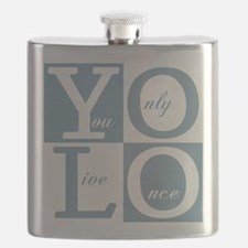 YOLO Square Flask
