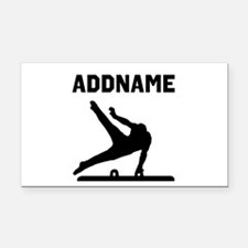 TERRIFIC GYMNAST Rectangle Car Magnet