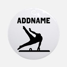 TERRIFIC GYMNAST Ornament (Round)