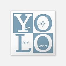 YOLO Square Sticker